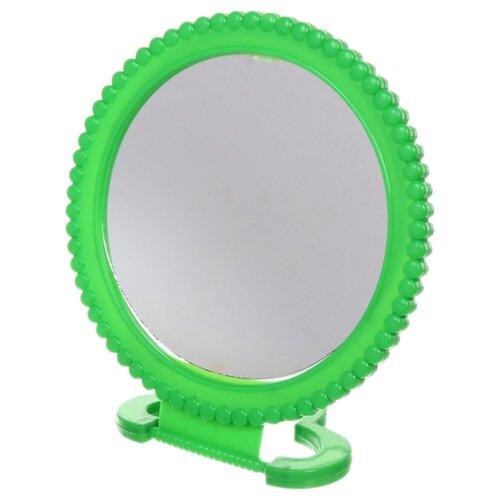 Зеркало косметическое настольное Florento Бусинки (420-264) зеленый