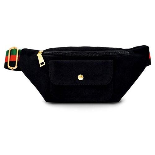 Фото - Сумка поясная Феникс+, искусственная кожа, черный сумка поясная solo искусственная кожа желтый
