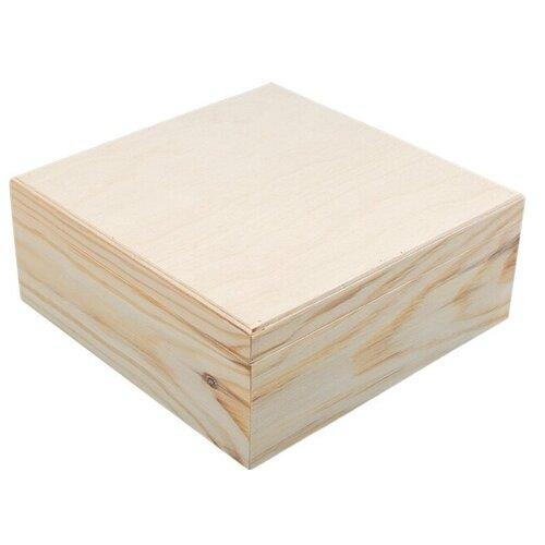 Mr. Carving Заготовка для декорирования Шкатулка ВД-365 бежевый, Декоративные элементы и материалы  - купить со скидкой