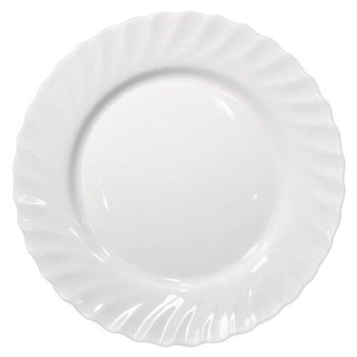 Luminarc Тарелка обеденная Trianon 24.5 см белый