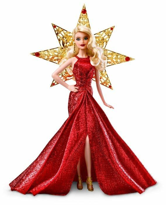 Праздничная кукла Barbie, 29 см, DYX39
