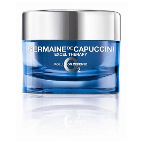 Germaine de Capuccini EXCEL THERAPY O2 Pollution Defense Youthfulness Activating Oxygenating Cream Крем восстанавливающий для лица, 50 мл недорого