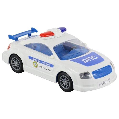 Фото - Легковой автомобиль Полесье ДПС Грозный в коробке (66145) 26.8 см полесье набор игрушек для песочницы 468 цвет в ассортименте