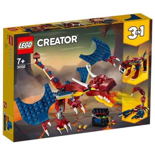 Фото - Конструктор LEGO Creator 31102 Огненный дракон конструктор creator lego lego mp002xb0085w