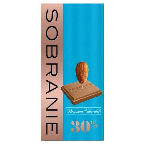 шоколад sobranie горький с апельсином и орехами 72% какао 90 г Шоколад SOBRANIE молочный с орехами, 90 г