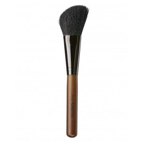 Кисть The Saem Cheek Contour Brush коричневый/черный недорого