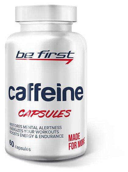 Предтренировочный комплекс Be First Caffeine Capsules (60 шт.)