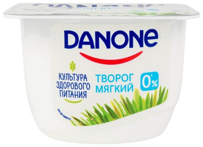 Творог Danon натур. мягкий 0%, 170г