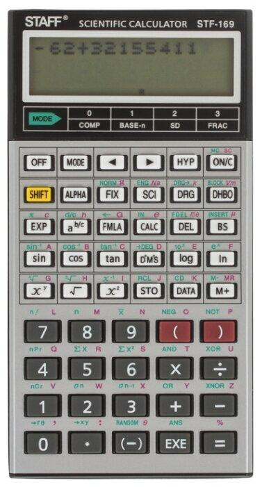 Калькулятор научный STAFF STF-169