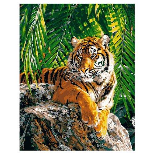 Фото - ВанГогВоМне Картина по номерам Бенгальский тигр, 40х50 см (ZX 20047) вангогвомне картина по номерам любовь к кофе 40х50 см zx 22277