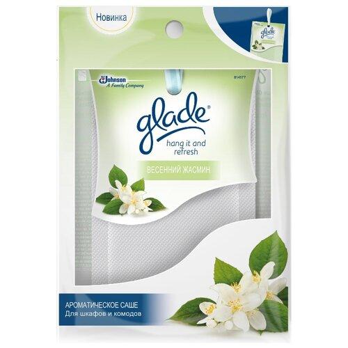 саше glade океанский оазис 8г ароматическое д шкафов и комодов Glade Саше для шкафов и комодов Весенний жасмин, 8г