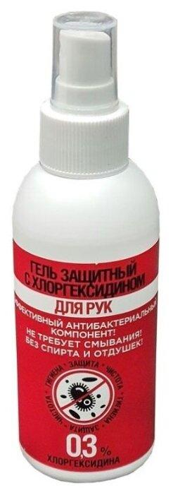 Зеленая Дубрава Гель защитный с хлоргексидином для рук