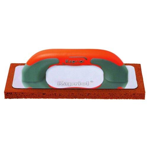 Тёрка для шлифовки штукатурки с губкой Kapriol 23051 210x140 мм тёрка для шлифовки штукатурки с губкой archimedes norma 90787 120x28 мм