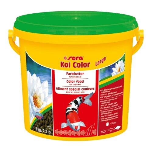 Сухой корм для рыб Sera Koi Color Large 3800 мл 1000 г