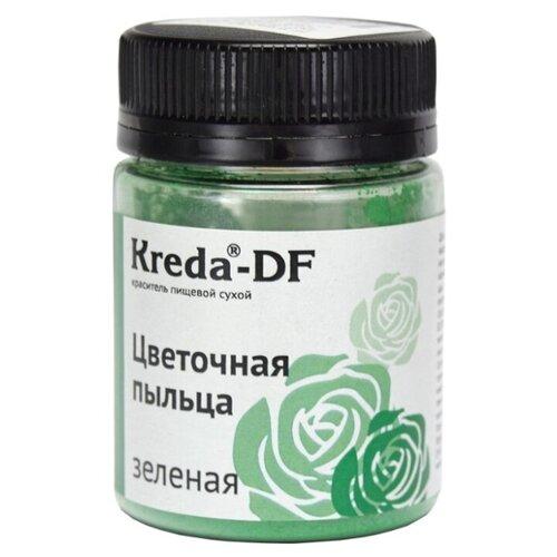 KREDA Краситель пищевой сухой Цветочная пыльца зеленый 5 г