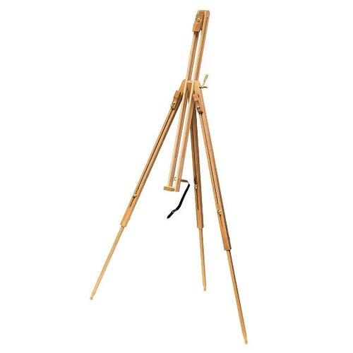 Купить Мольберт Малевичъ тренога МЛ-17 (141017) коричневый, Доски и мольберты