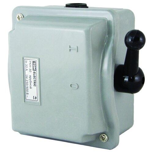 Рубильник TDM ЕLECTRIC РКН-30 3P 30 А рубильник tdm еlectric вн 32 2p 40 а