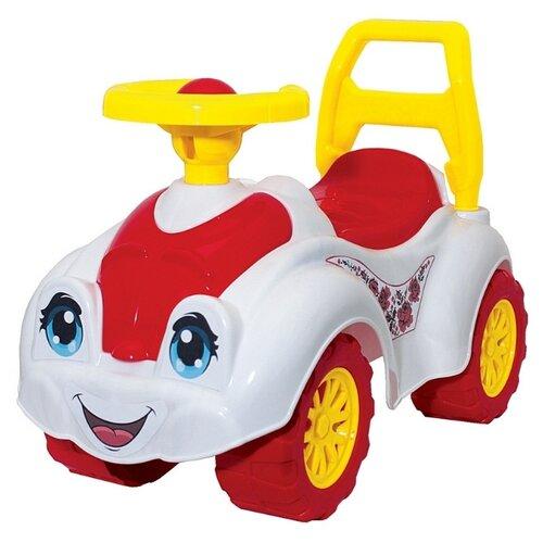 Купить Каталка-толокар RT ZOO Animal Planet Заяц Т3503 (5247) со звуковыми эффектами розовый/белый, Каталки и качалки
