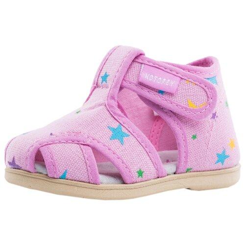 Сандалии КОТОФЕЙ размер 19, 71 розовый сандалии для девочки скороход цвет ярко розовый 16 282 1 размер 23
