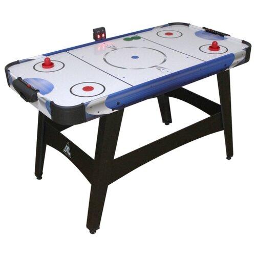 Игровой стол для аэрохоккея DFC Frolunda 54 JG-AT-15403 черный/синий