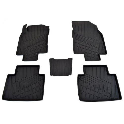 Комплект ковриков NorPlast NP11-LdC-61-812 Nissan X-Trail 5 шт. черный