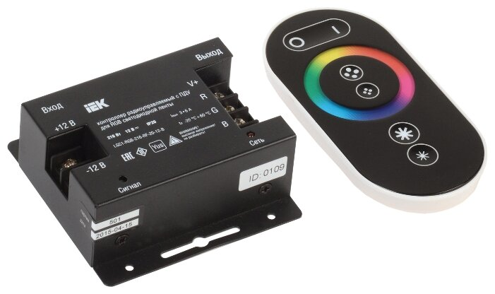 Контроллер для светодиодов IEK LSC1-RGB-216-RF-20-12-B
