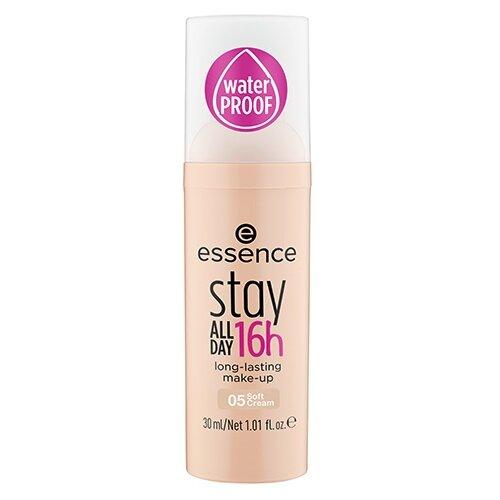 Essence Тональный крем Stay All Day, 30 мл, оттенок: 05 soft cream