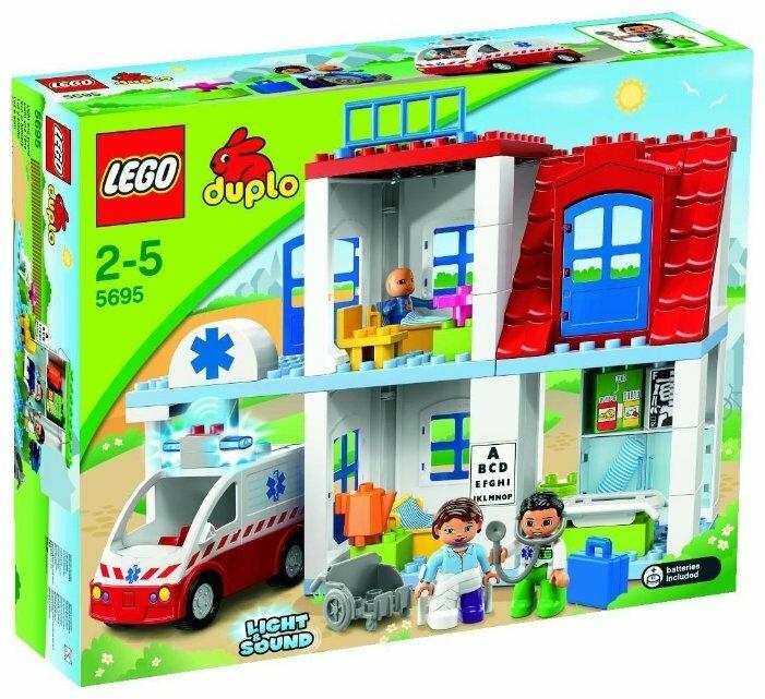 Конструктор LEGO DUPLO 5695 Больница