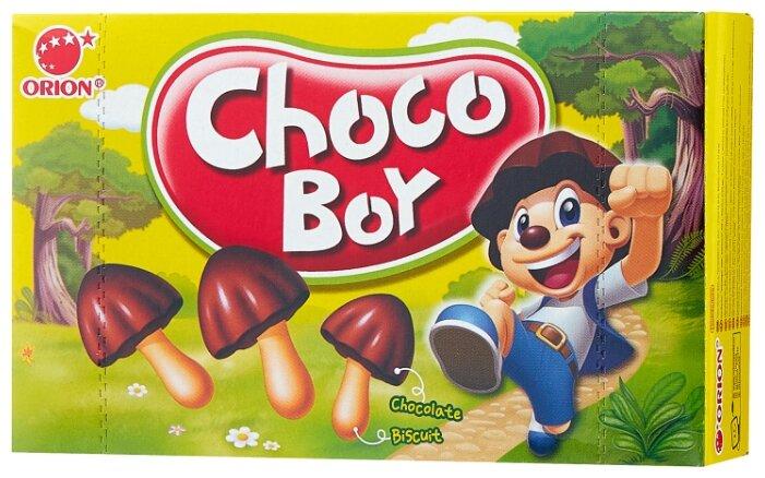Печенье Choco Boy Грибочки, 45 г