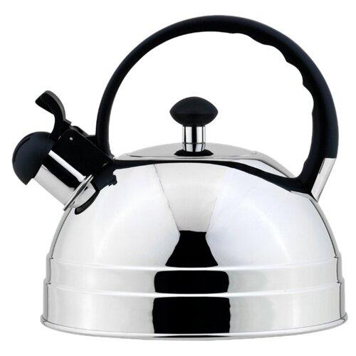 Фото - REGENT inox Чайник со свистком 93-TEA-26 2.5 л, стальной чайник 2 6 л со свистком regent tea 93 tea 28