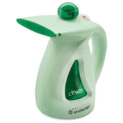 Отпариватель ENDEVER Odyssey Q-414/Q-415/Q-416/Q-417, зеленый отпариватель ручной endever odyssey q 411 800вт емкость 0 6л зеленый
