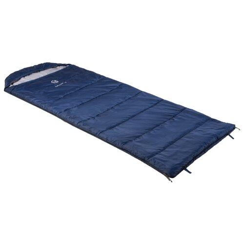 Спальный мешок FHM Galaxy 5 синий/серый с левой стороны