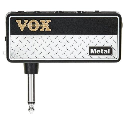 Фото - VOX усилитель для наушников amPlug 2 Metal гитарный усилитель vox amplug cabinet amplug ac30