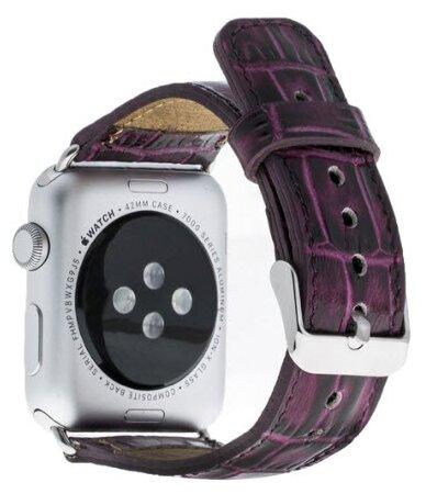 Bouletta Кожаный ремешок для Apple Watch 42/44 мм (YK02)
