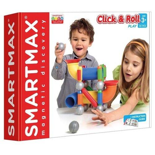 Купить Магнитный конструктор SmartMax 404 Click & Roll, Конструкторы