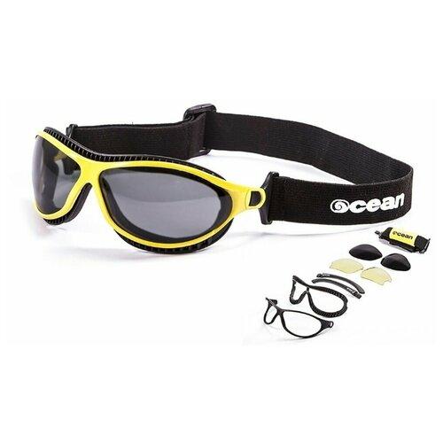 Спортивные очки OCEAN Tierra de fuego желтые / черные линзы