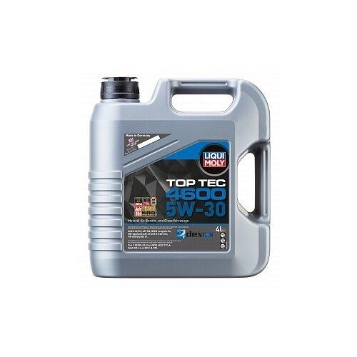 Фото - Полусинтетическое моторное масло LIQUI MOLY Top Tec 4600 5W-30 4 л полусинтетическое моторное масло liqui moly top tec 4200 diesel 5w 30 1 л