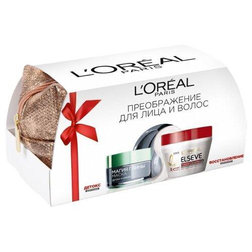 Набор L'Oreal Paris Преображение для лица и волос