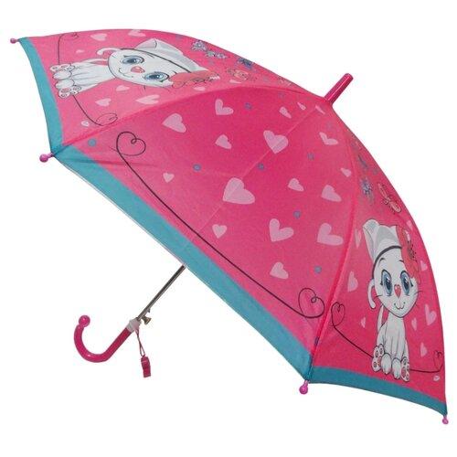 Зонт Играем вместе розовый