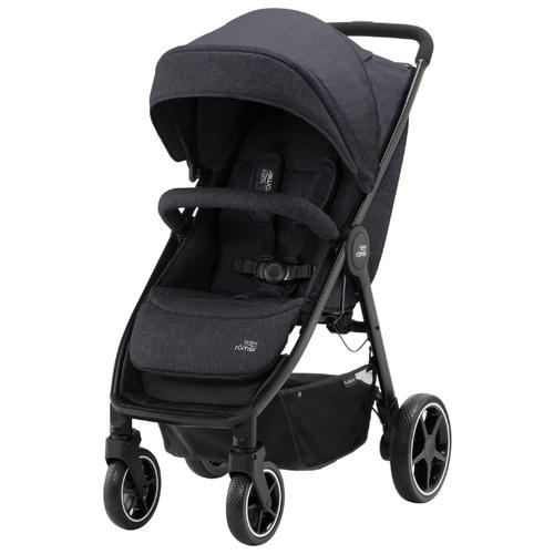 Прогулочная коляска BRITAX ROMER B-Agile M black shadow коляска britax детская прогулочная коляска britax b agile 4 plus с капором sand beige