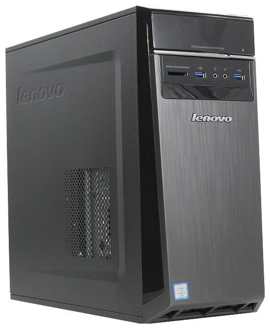 Настольный компьютер Lenovo 300-20ISH MT (90DA00HXRS) Mini-Tower/Intel Core i3-6100/8 ГБ/8 ГБ SSD+1
