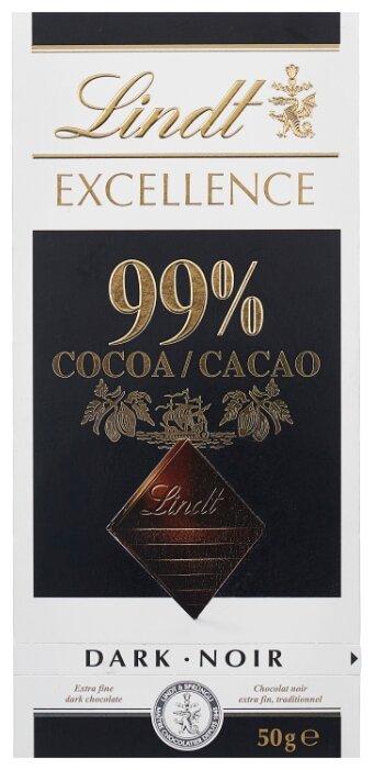 Шоколад Lindt Excellence горький 99% какао, 50 г