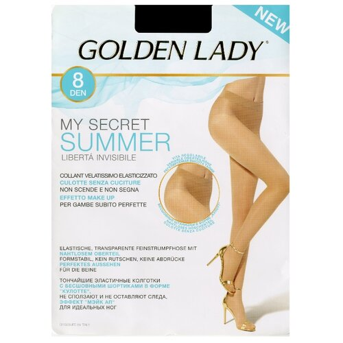 Колготки Golden Lady My Secret Summer 8 den sahara 4-L (Golden Lady)Колготки и чулки<br>