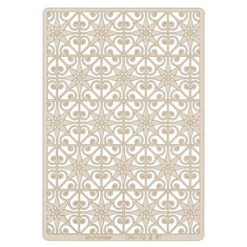 Купить Mr. Painter Чипборд для скрапбукинга CHI-10 11.5 см х 16.5 см 81 Мароканская плитка бежевый, Украшения и декоративные элементы