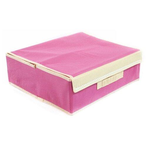 Фото - Удачная покупка Коробка для хранения RYP98 розовый коробка рыжий кот 33х20х13см 8 5л д хранения обуви пластик с крышкой