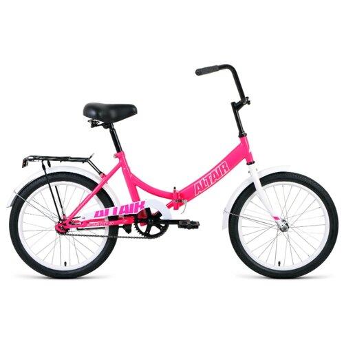 цена на Городской велосипед ALTAIR City 20 (2020) розовый 14 (требует финальной сборки)