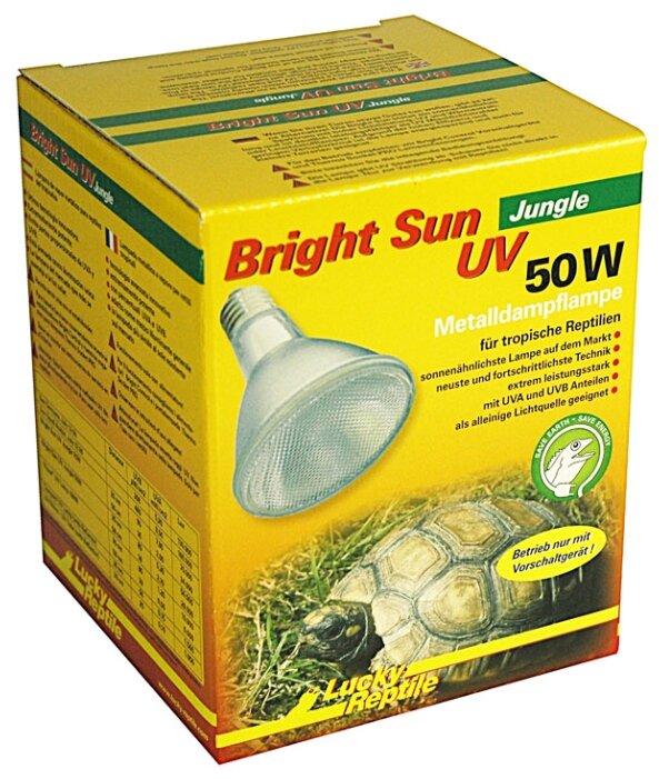 Террариумная ультрафиолетовая лампа Lucky Reptile Bright Sun Jungle UV, металлогалогенная, 50 Вт