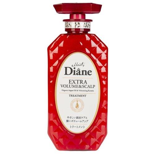Moist Diane бальзам-маска Perfect Beauty Extra Volume & Scalp кератиновая Объем, 450 мл бальзам moist diane diane volume