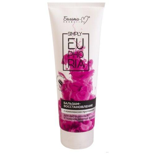 Белита-М бальзам-восстановление Simply euphoria для окрашенных и поврежденных волос, 125 г