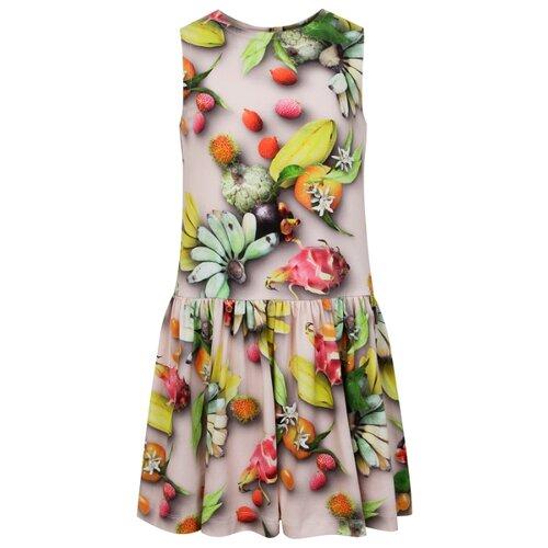Платье Molo размер 92-98, розовый/желтый/зеленый цена 2017